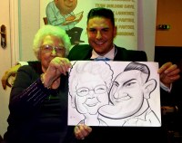 Caricature Artists UK TELDORD Mafley Cheshire Mancgester Uk